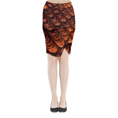 Fractal Mathematics Frax Midi Wrap Pencil Skirt
