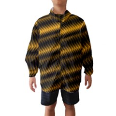 Ornament Stucco Close Pattern Art Wind Breaker (kids)
