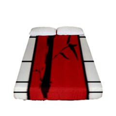 Shoji   Bamboo Fitted Sheet (full/ Double Size)