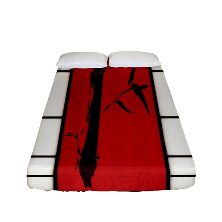 SHOJI - BAMBOO Fitted Sheet (Full/ Double Size)