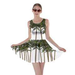 Bamboo Plant Wellness Digital Art Skater Dress