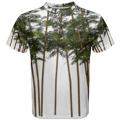 Bamboo Plant Wellness Digital Art Men s Cotton Tee