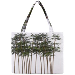 Bamboo Plant Wellness Digital Art Mini Tote Bag