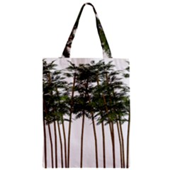 Bamboo Plant Wellness Digital Art Zipper Classic Tote Bag