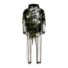Bamboo Plant Wellness Digital Art Hooded Jumpsuit (kids)