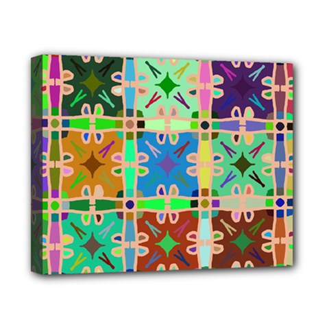 Abstract Pattern Background Design Canvas 10  X 8