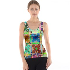 Abstract Pattern Background Design Tank Top