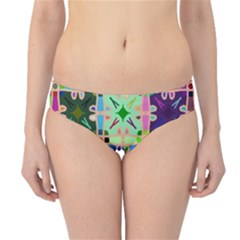 Abstract Pattern Background Design Hipster Bikini Bottoms