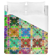 Abstract Pattern Background Design Duvet Cover (queen Size)