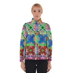 Abstract Pattern Background Design Winterwear