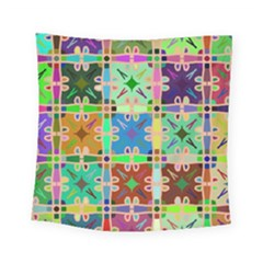 Abstract Pattern Background Design Square Tapestry (small)