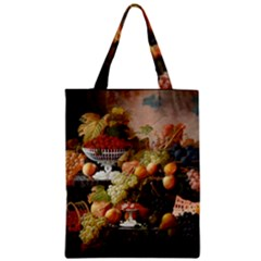 Abundance Of Fruit Severin Roesen Zipper Classic Tote Bag