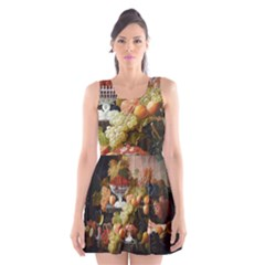 Abundance Of Fruit Severin Roesen Scoop Neck Skater Dress
