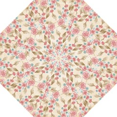 Background Page Template Floral Folding Umbrellas