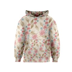 Background Page Template Floral Kids  Pullover Hoodie