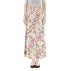 Background Page Template Floral Maxi Skirts