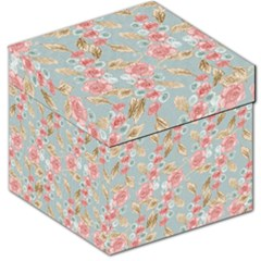Background Page Template Floral Storage Stool 12