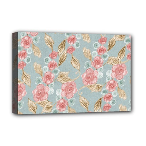 Background Page Template Floral Deluxe Canvas 18  X 12