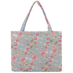 Background Page Template Floral Mini Tote Bag