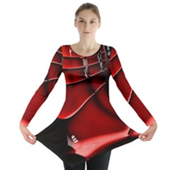 Fractal Mathematics Abstract Long Sleeve Tunic