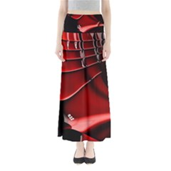 Fractal Mathematics Abstract Maxi Skirts