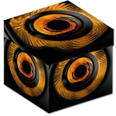 Fractal Mathematics Abstract Storage Stool 12