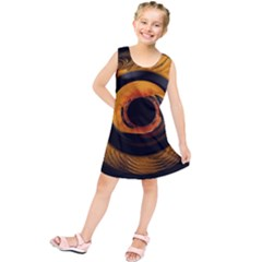 Fractal Mathematics Abstract Kids  Tunic Dress