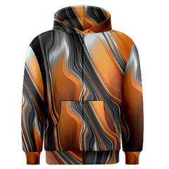 Fractal Structure Mathematics Men s Zipper Hoodie
