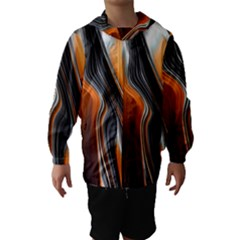 Fractal Structure Mathematics Hooded Wind Breaker (kids)