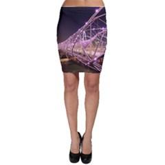 Helixbridge Bridge Lights Night Bodycon Skirt