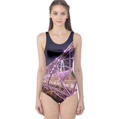 Helixbridge Bridge Lights Night One Piece Swimsuit