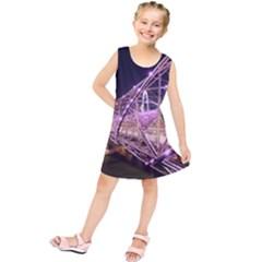 Helixbridge Bridge Lights Night Kids  Tunic Dress