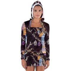 Qingdao Provence Lights Outdoors Women s Long Sleeve Hooded T Shirt