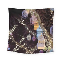 Qingdao Provence Lights Outdoors Square Tapestry (small)
