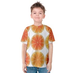 Orange Discs Orange Slices Fruit Kids  Cotton Tee