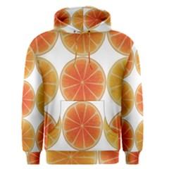 Orange Discs Orange Slices Fruit Men s Pullover Hoodie