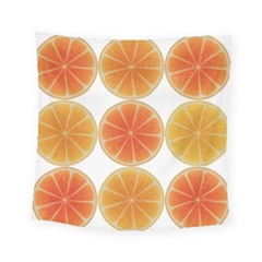 Orange Discs Orange Slices Fruit Square Tapestry (small)