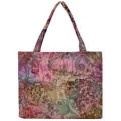Texture Background Spring Colorful Mini Tote Bag