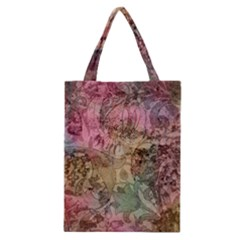Texture Background Spring Colorful Classic Tote Bag