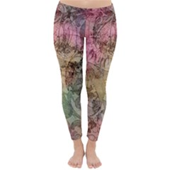 Texture Background Spring Colorful Classic Winter Leggings