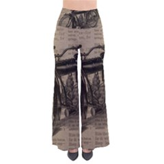 Vintage Collage Motorcycle Indian Pants