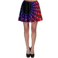 Fractal Mathematics Abstract Skater Skirt