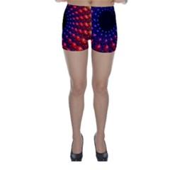 Fractal Mathematics Abstract Skinny Shorts