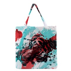 Wallpaper Background Watercolors Grocery Tote Bag
