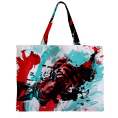 Wallpaper Background Watercolors Zipper Mini Tote Bag