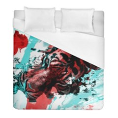 Wallpaper Background Watercolors Duvet Cover (full/ Double Size)