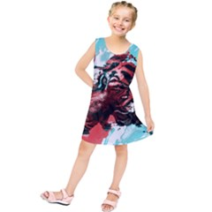 Wallpaper Background Watercolors Kids  Tunic Dress