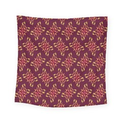 Flower Purple Square Tapestry (small)