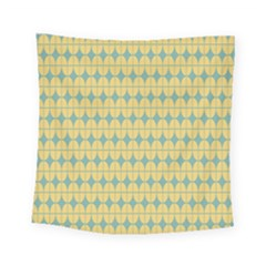 Green Yellow Square Tapestry (small)
