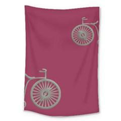 Rose Pink Fushia Large Tapestry